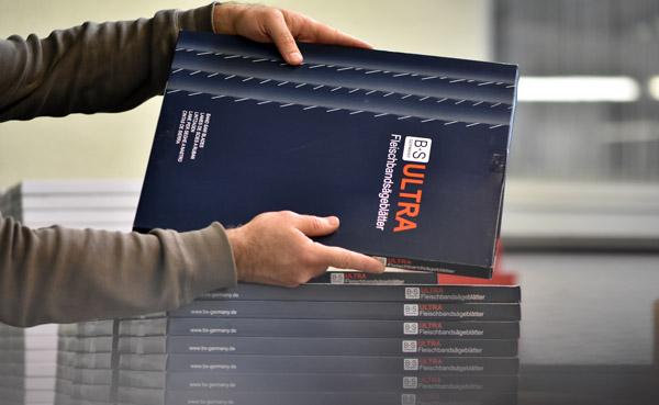 Ultra Bandsägeblätter für die Fleischerei Industrie - B+S Germany